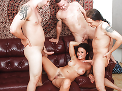 Horny divorced MILF has craving for a rigid gang banging !